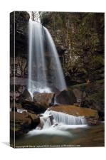 Melincourt Falls, Canvas Print