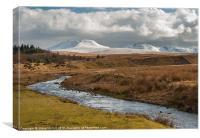 The Black Mountain (Y Mynydd Du), Canvas Print