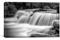 A Talybont Waterfall, Canvas Print