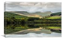 The Brecon Beacons, Canvas Print