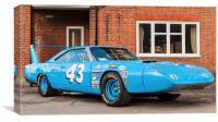 Dodge Charger Daytona, Canvas Print