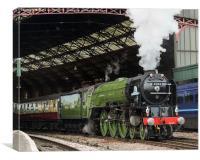 LNER A1 Class 4-6-2 no 60163 Tornado, Canvas Print
