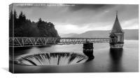 Pontstcill reservoir, Canvas Print