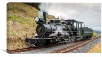 The Brecon Mountain Railway, Canvas Print