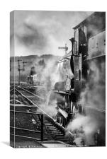 GWR 7800 Class No. 7820 Dinmore Manor, Canvas Print