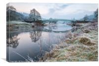Bigsweir bridge, Wye valley, Canvas Print