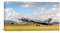 Avro Vulcan XH558 'The Spirit Of Great Britain', Canvas Print