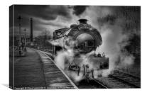'The Lancastrian', Canvas Print