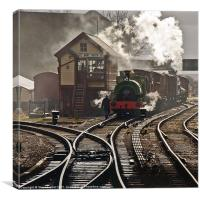 Bury Bolton St. Station, Canvas Print