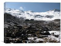 mountain, Canvas Print