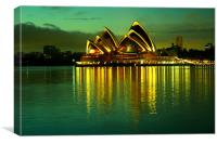 Sydney Opera House, Canvas Print