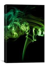 Smoke swirl, Canvas Print