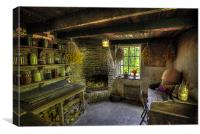 The Gardners Seed Room, Canvas Print