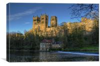 Durham Cathedral in Spring, Canvas Print