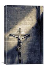Sant Miquel Crusifix, Canvas Print