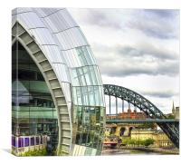 The Sage and Tyne Bridge