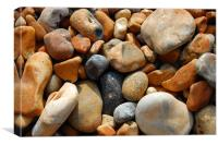 Brighton Stones, Canvas Print