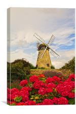 whitburn windmill, Canvas Print