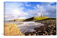 Dunstanburgh, Canvas Print