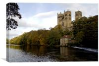 Durham Cathedral., Canvas Print