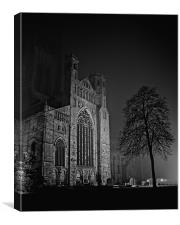 Misty Cathedral, Canvas Print