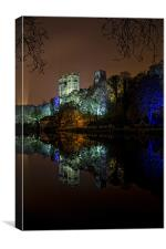 Durham Cathedral Lumiere, Canvas Print