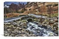 Ashness Bridge, Canvas Print