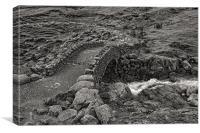 Stockley Bridge, Canvas Print