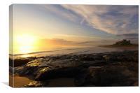 Bamburgh Sunrise, Canvas Print