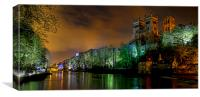 Durham Lumiere Panoramic, Canvas Print