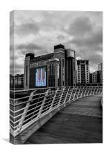 Newcastle Quayside, Canvas Print