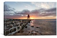 South Shields, Canvas Print