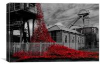 Weeping Window at Woodhorn, Canvas Print