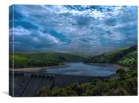 Meldon by Midday and Midnight, Canvas Print
