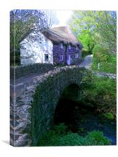 Cullaford Bridge, Canvas Print