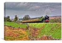 Steam on the North Yorks Moors Railway, Canvas Print