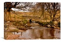 Cray Gill Bridge, Canvas Print
