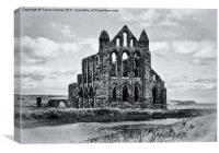 Whitby Abbey, Canvas Print