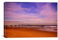 ~ Saltburn Pier ~, Canvas Print