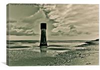 Morning on the Humber Estuary, Canvas Print