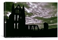 Dracula's Home, Canvas Print