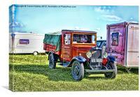 Vintage Transport, Canvas Print