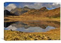 Reflections - Lake District, Canvas Print