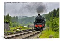 North Yorks Moors Railway, Canvas Print