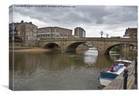 Ouse Bridge - York, Canvas Print