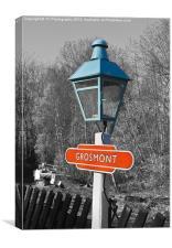 Grosmont Platform Light, Canvas Print