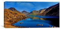 Wastwater English Lake District, Canvas Print
