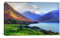Autumn at Wastwater Lake District, Canvas Print