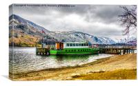 Ullswater Steamer Lake District, Canvas Print