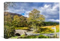 Birks Bridge Lake District, Canvas Print